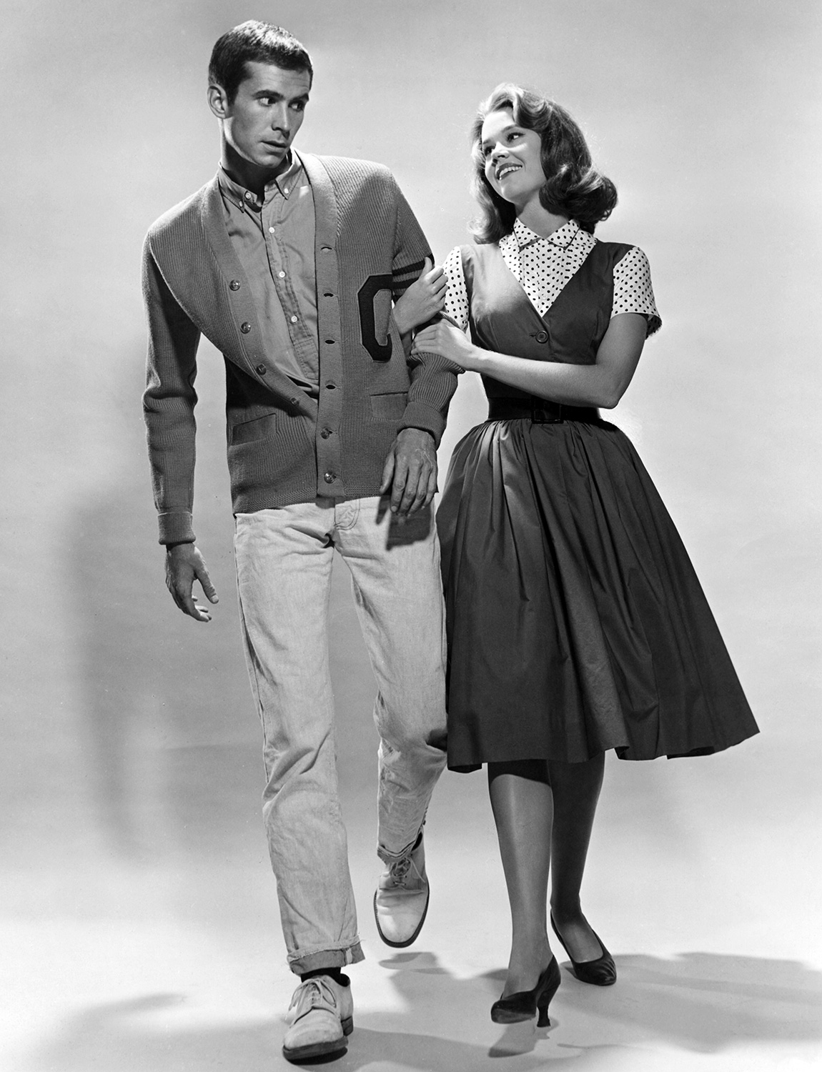 Anthony Perkins And Jane Fonda In Tall Story