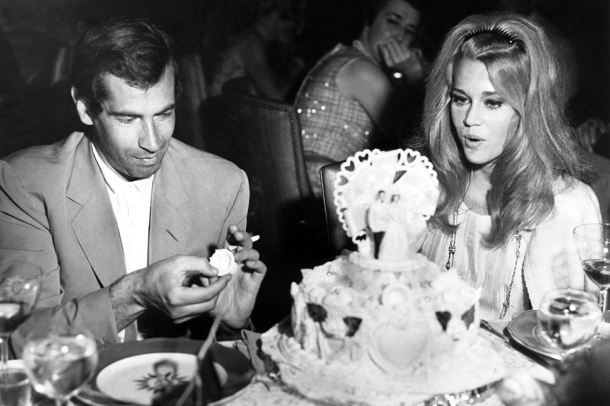 Roger Vadim And Jane Fonda The Evening Of Their Marriage, 1965