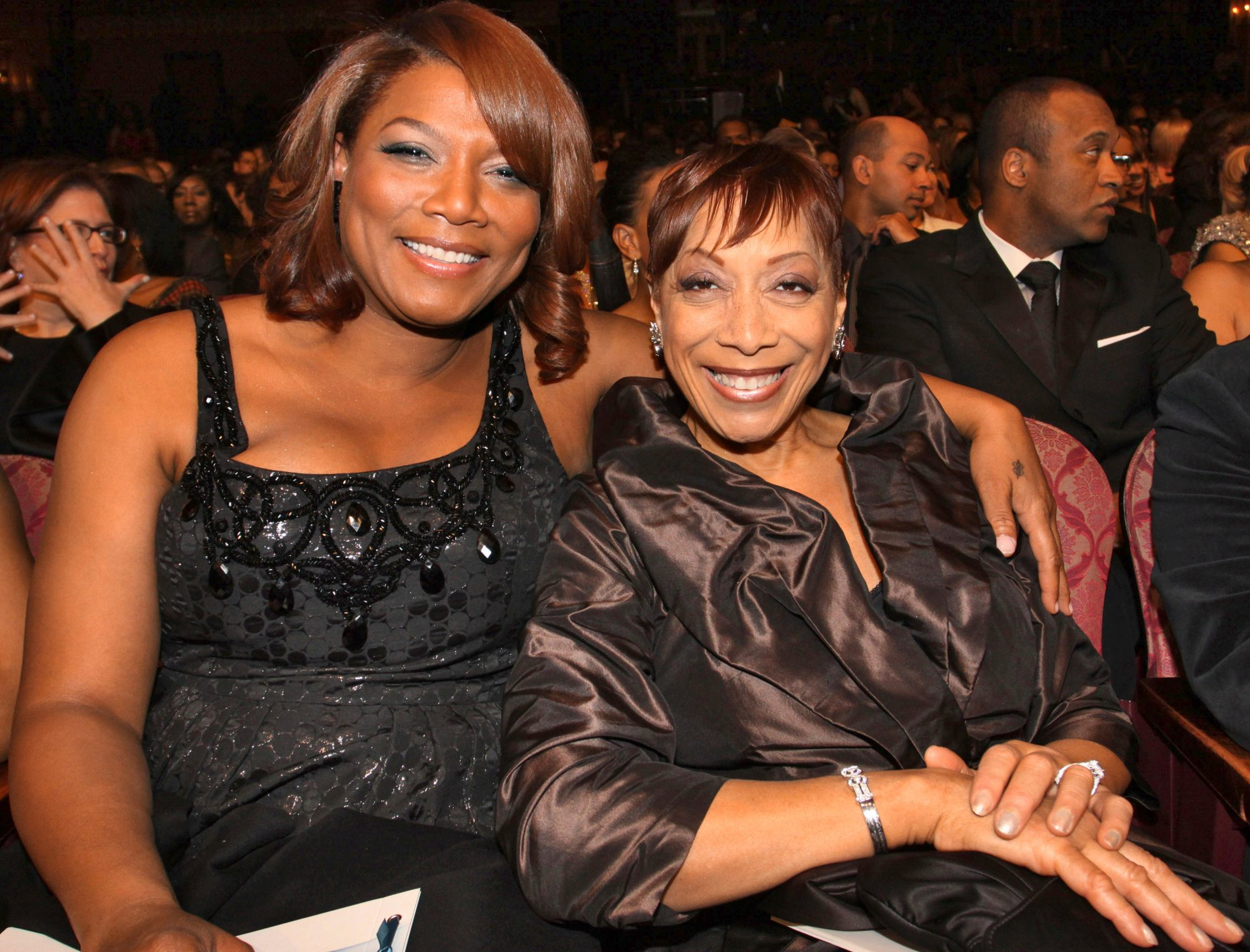 queen latifah and mom rita