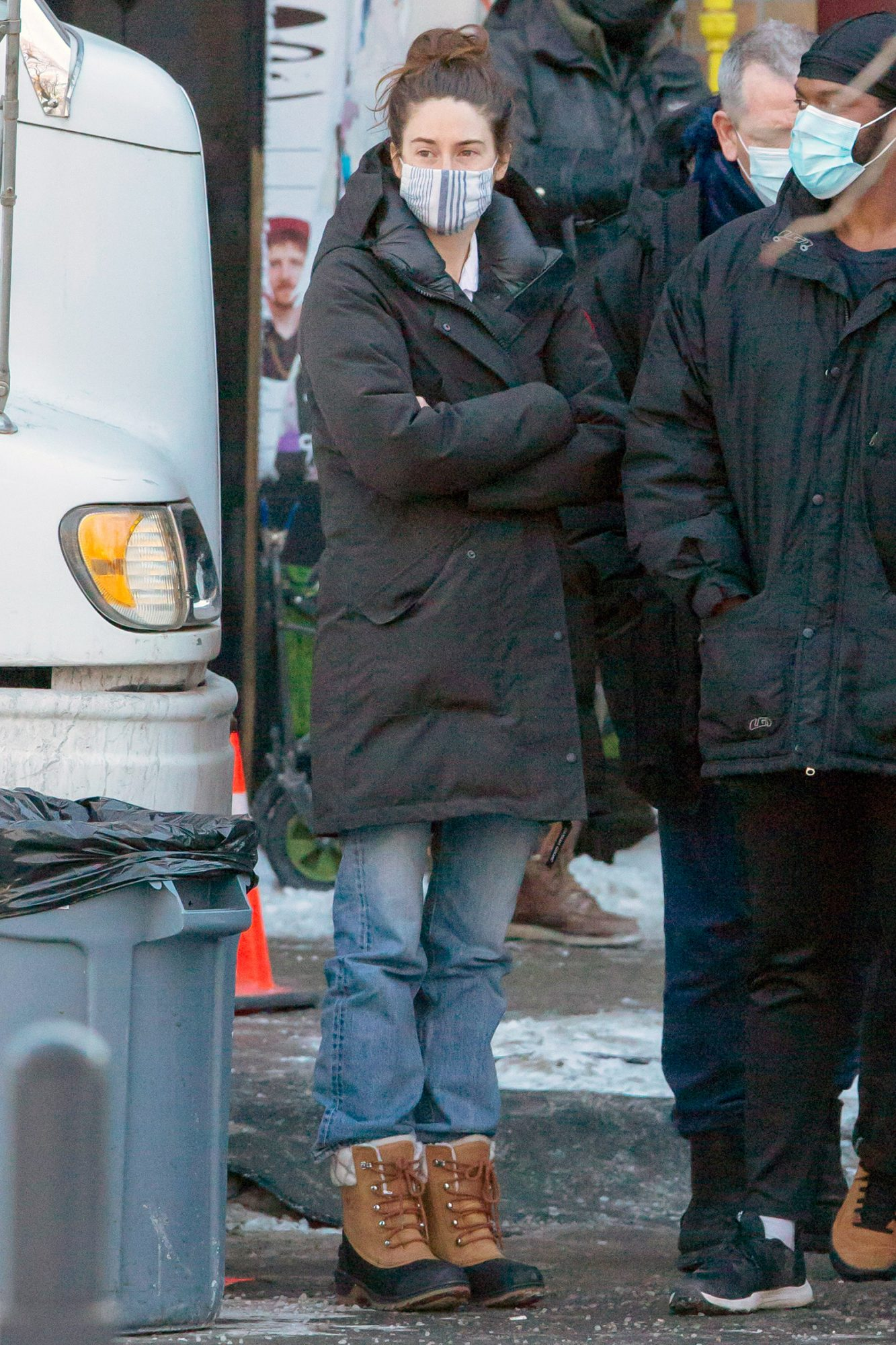 Newly Engaged Shailene Woodley is Spotted on The Set of 'Misanthrope' in Montreal