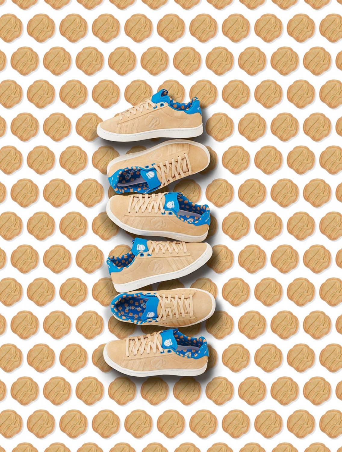Girl Scout cookie shoes