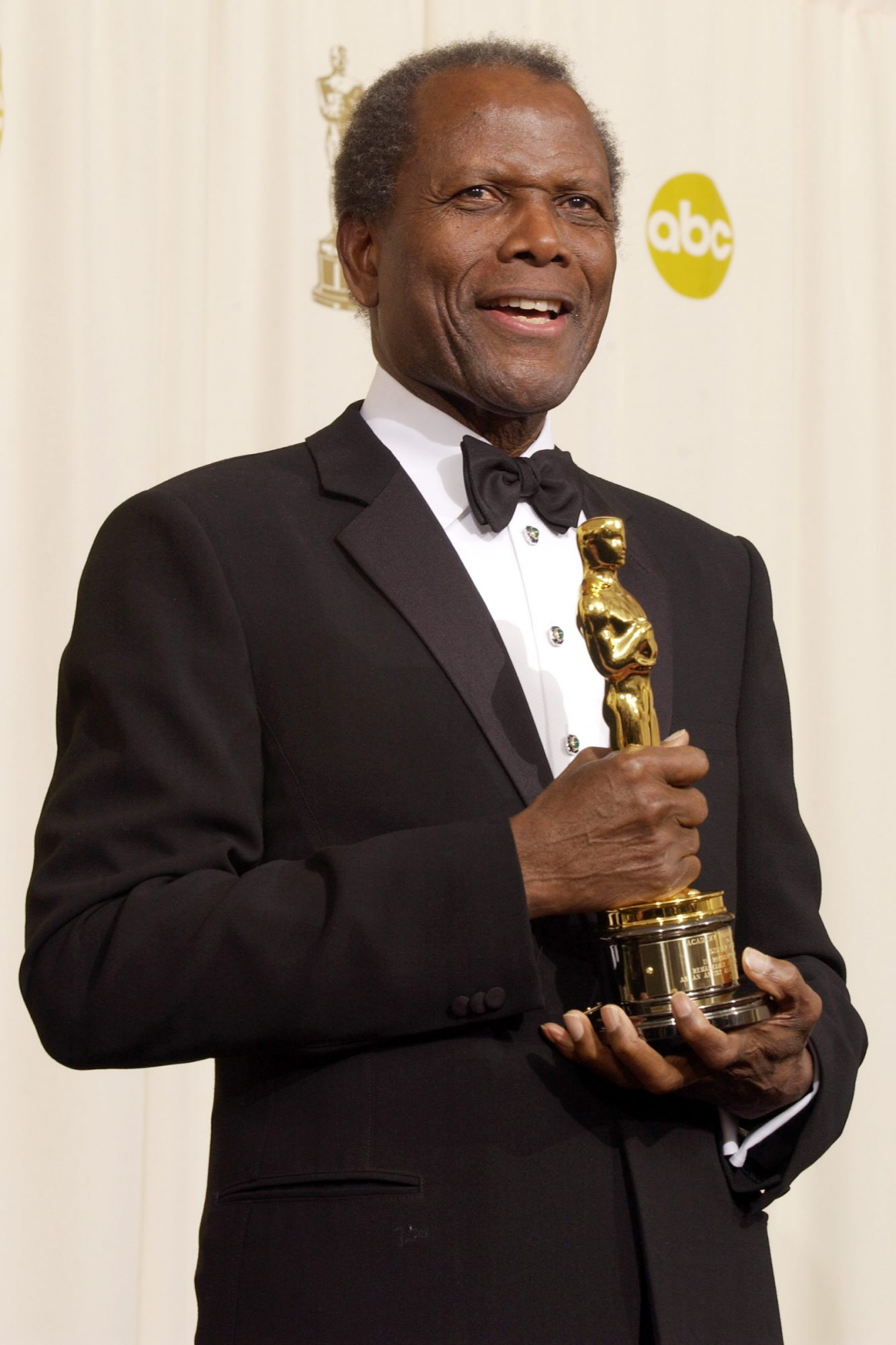 Sidney Poitier during The 74th Annual Academy Awards