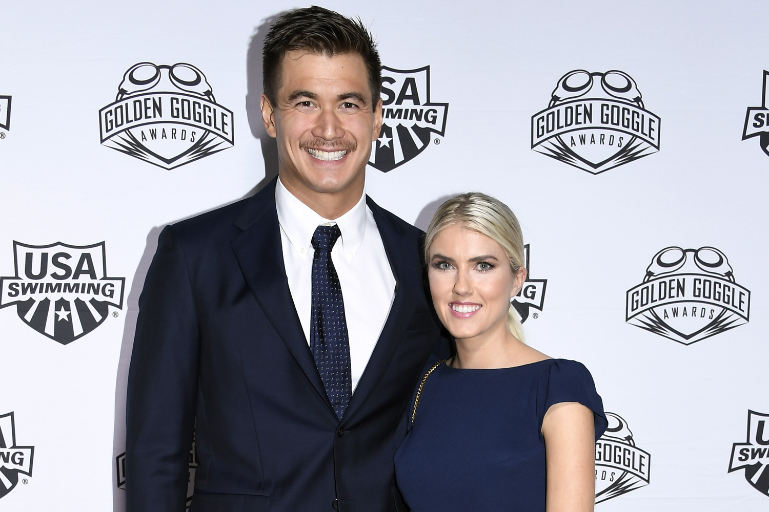Nathan Adrian and wife Hallie Ivester