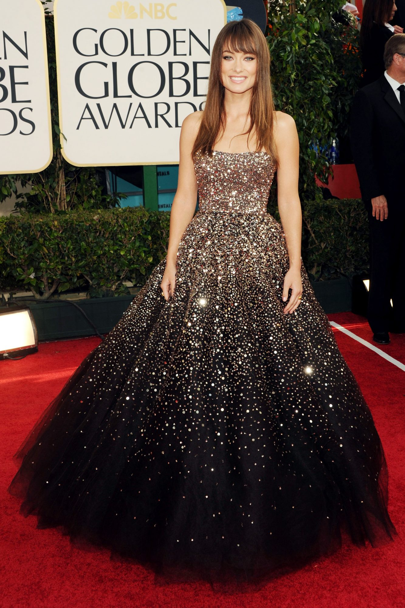 Olivia Wilde arrives at the 68th Annual Golden Globe Awards held at The Beverly Hilton hotel on January 16, 2011