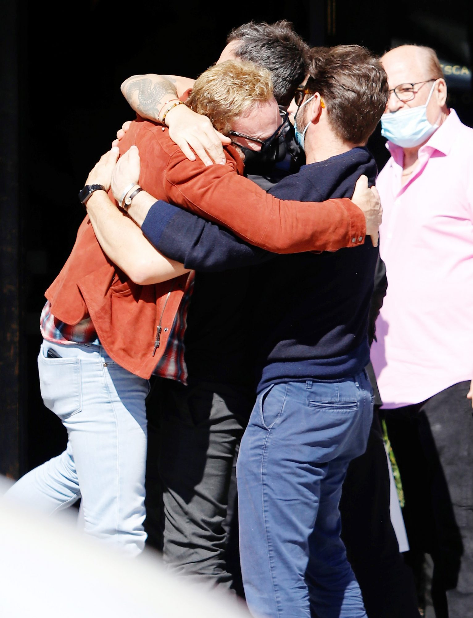 Jason Priestley, Ian Ziering and Brian Austin Green Have a Beverly Hills, 90210 Reunion in Los Angeles