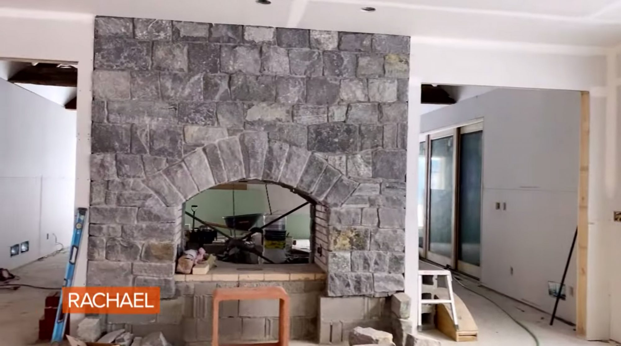Rachael & John Show Frame Of The Home They're Rebuilding After Summer 2020 House Fire