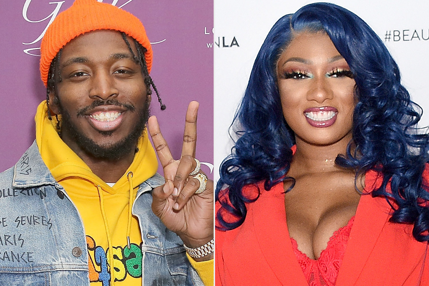 Megan Thee Stallion and Pardison Fontaine