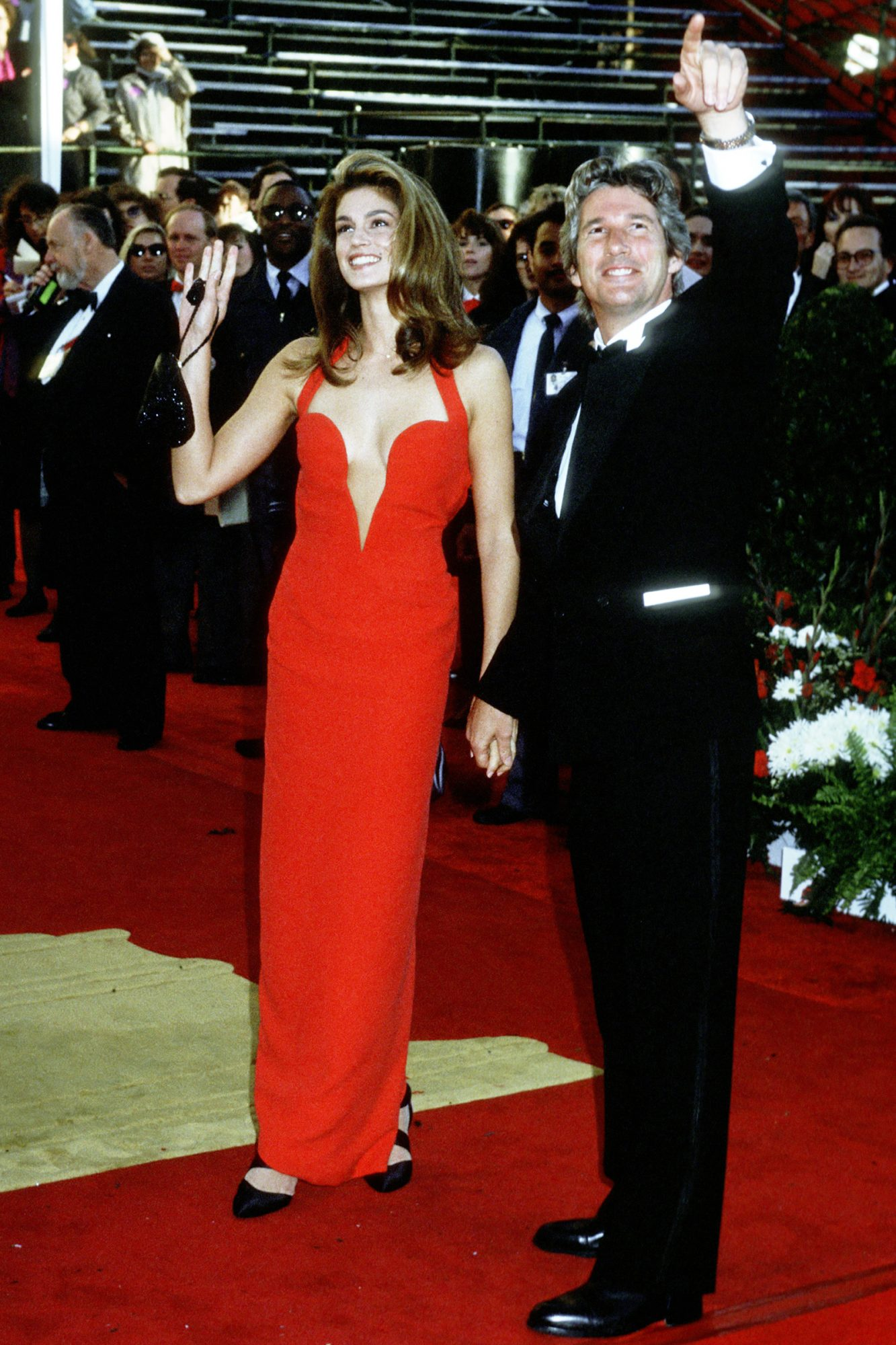 Cindy Crawford and Richard Gere 63rd Annual Academy Awards