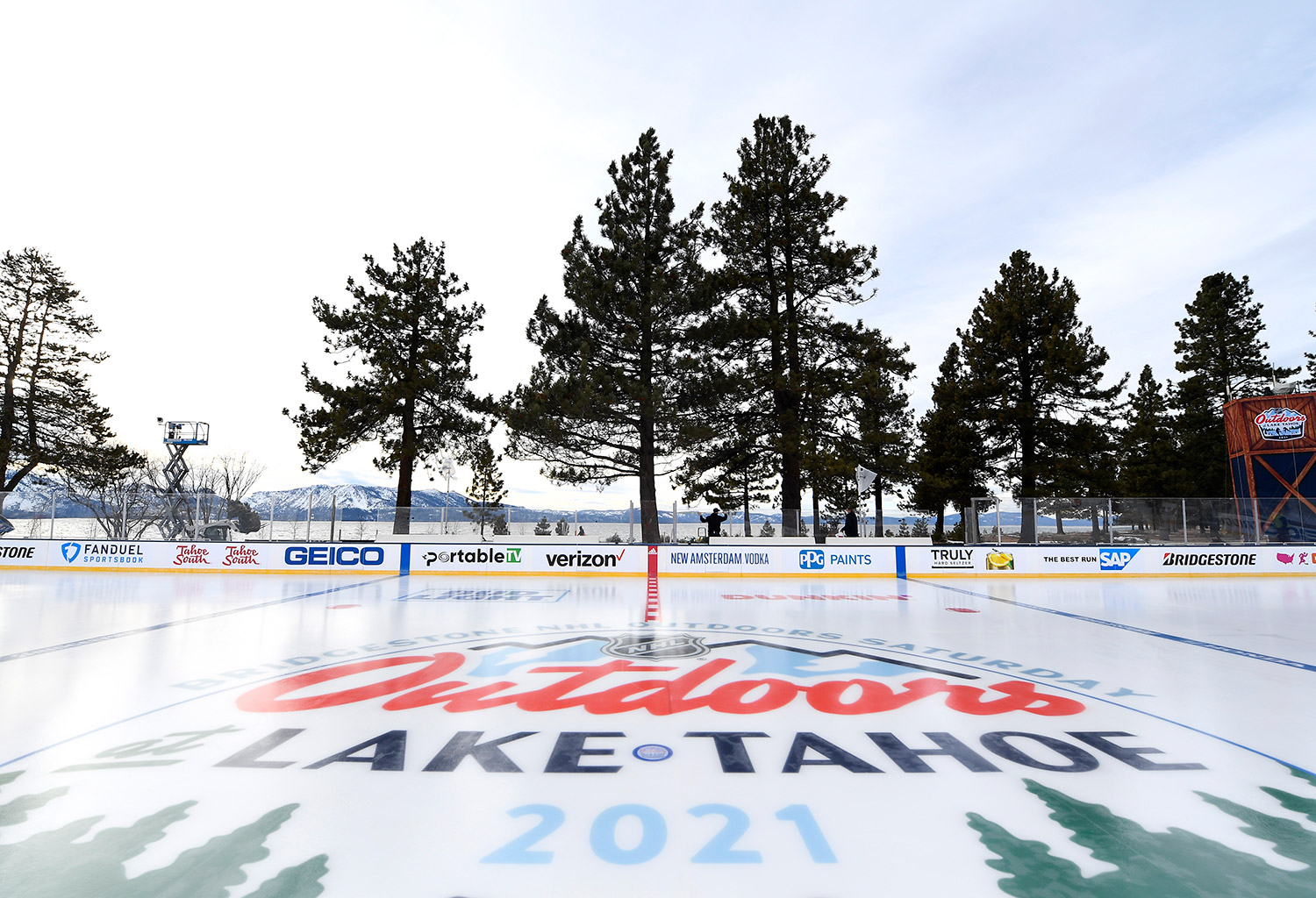 NHL Outdoors rink