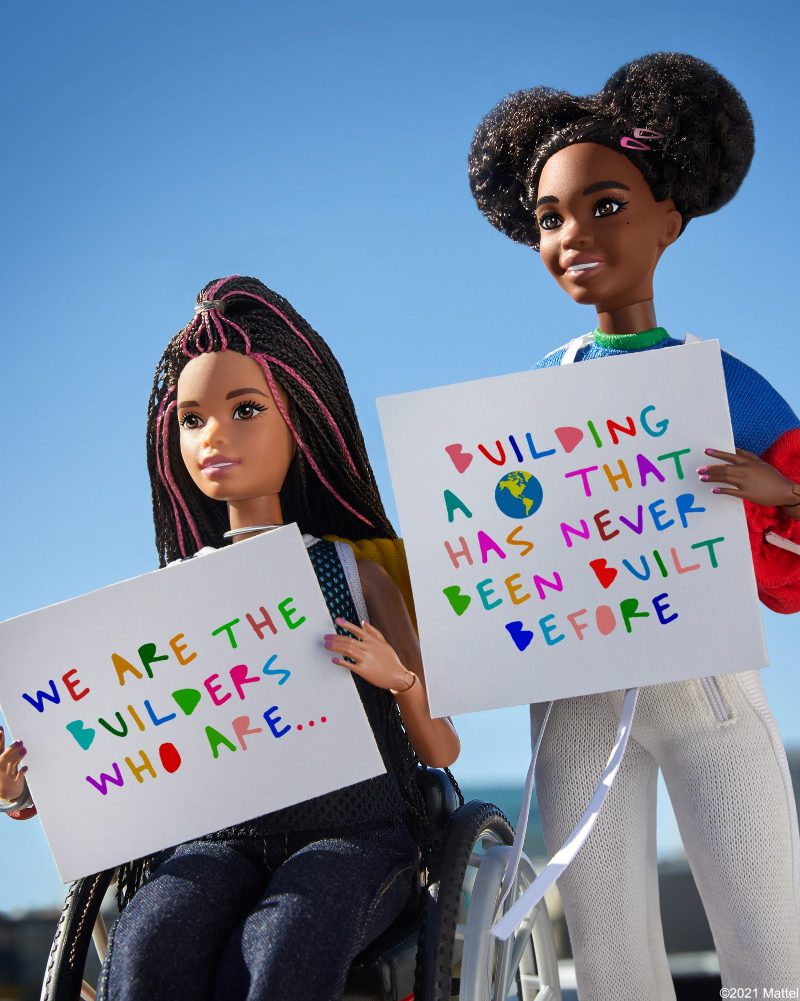 cleo wade's collaboration with Barbie for Black History Month