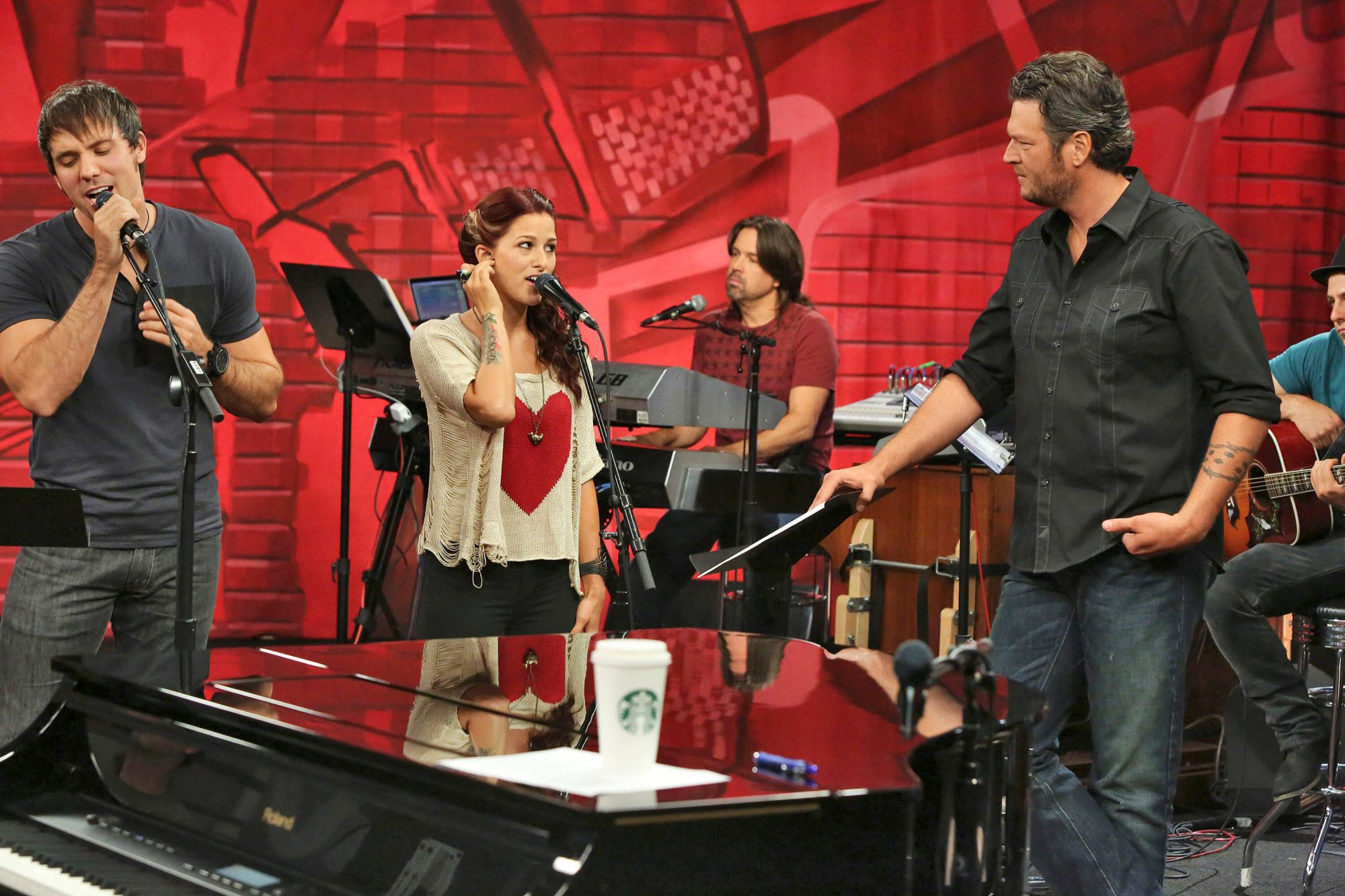 contestants on the voice
