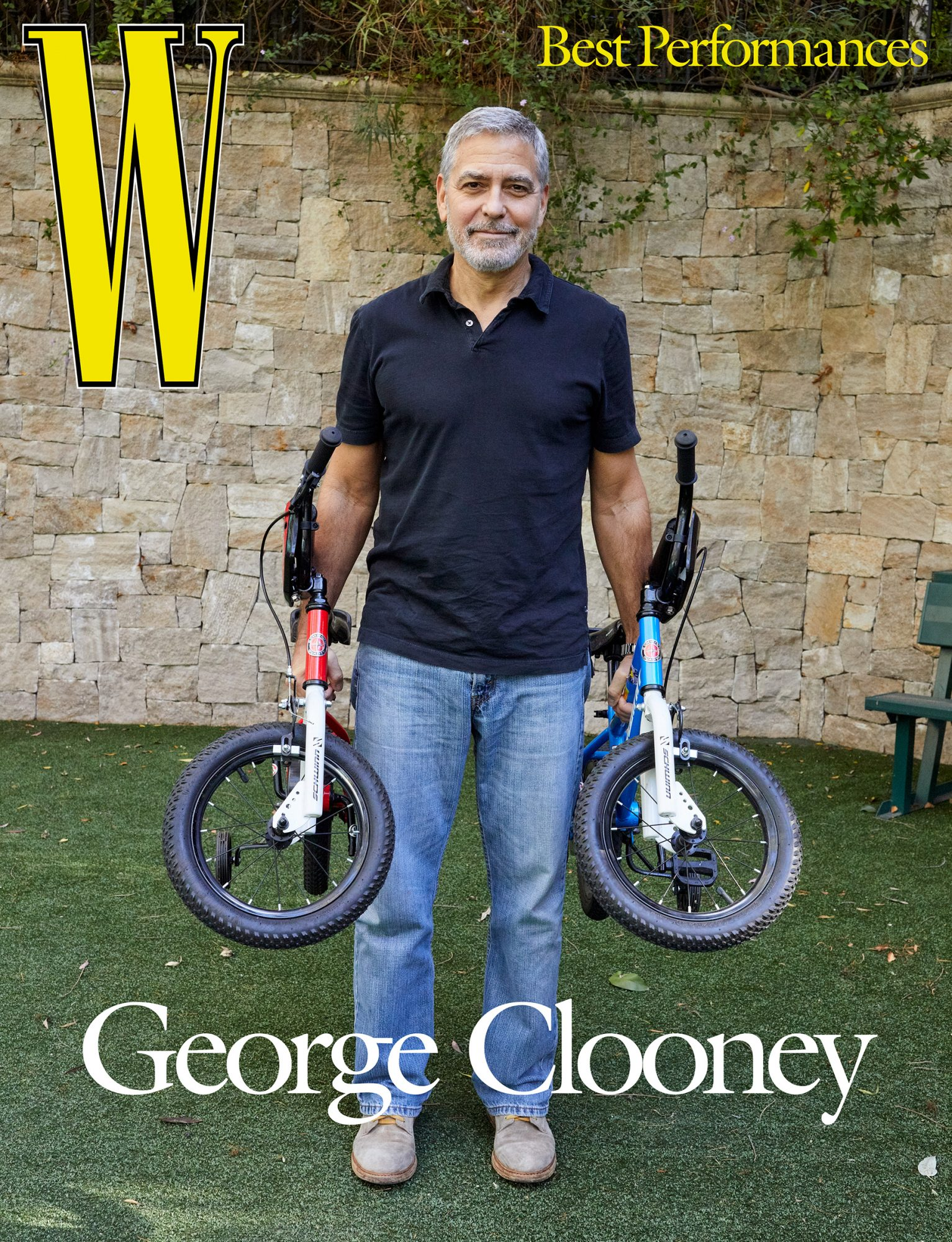 George Clooney on W Magazine