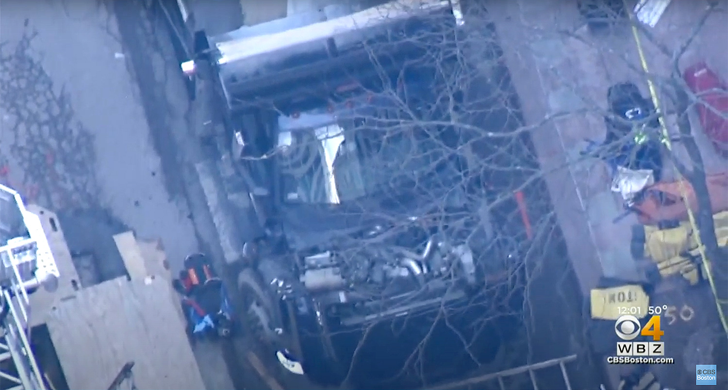2 Boston Construction Workers Killed After Being Struck by Truck and Falling into a Trench