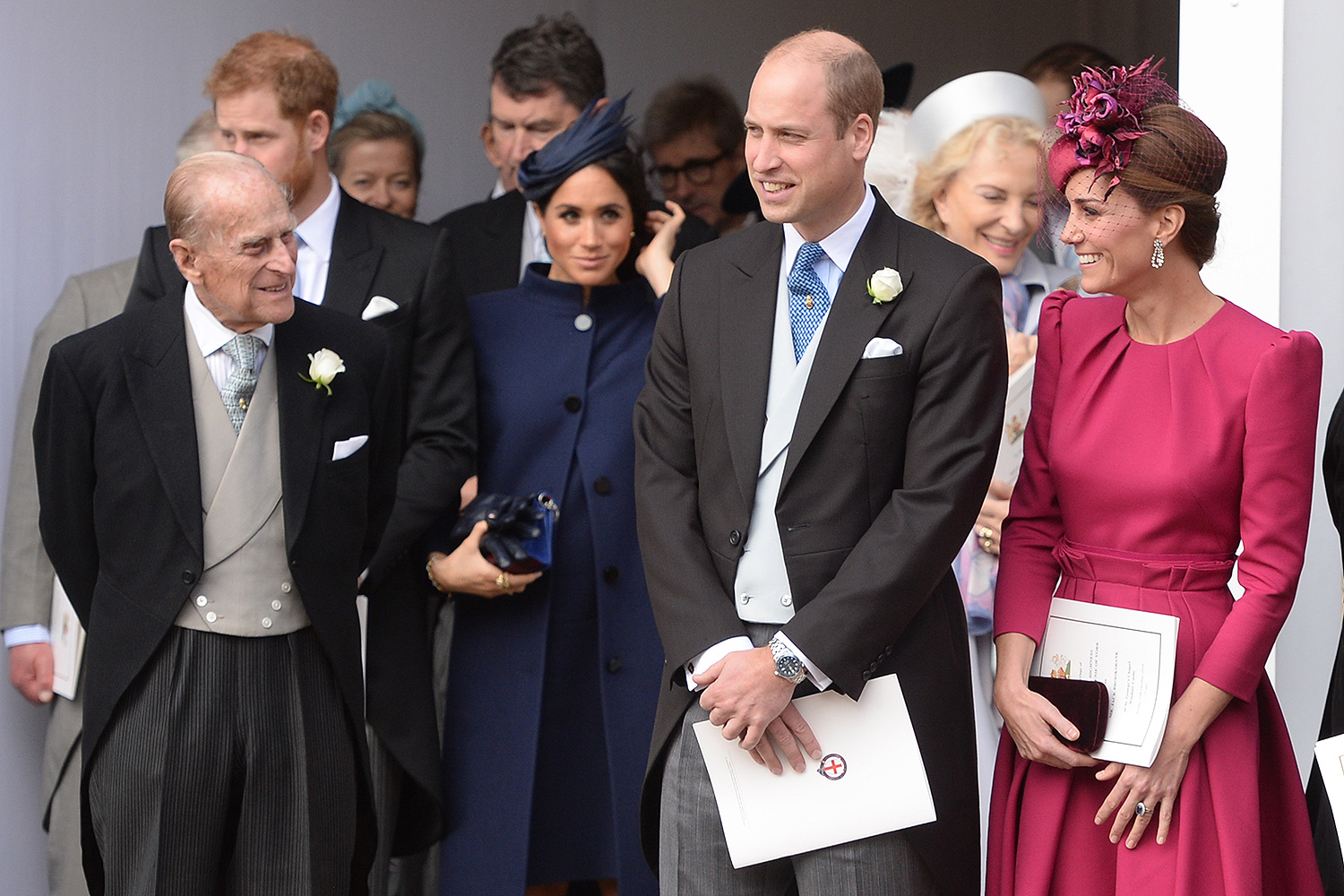 Prince Philip, Will, Kate