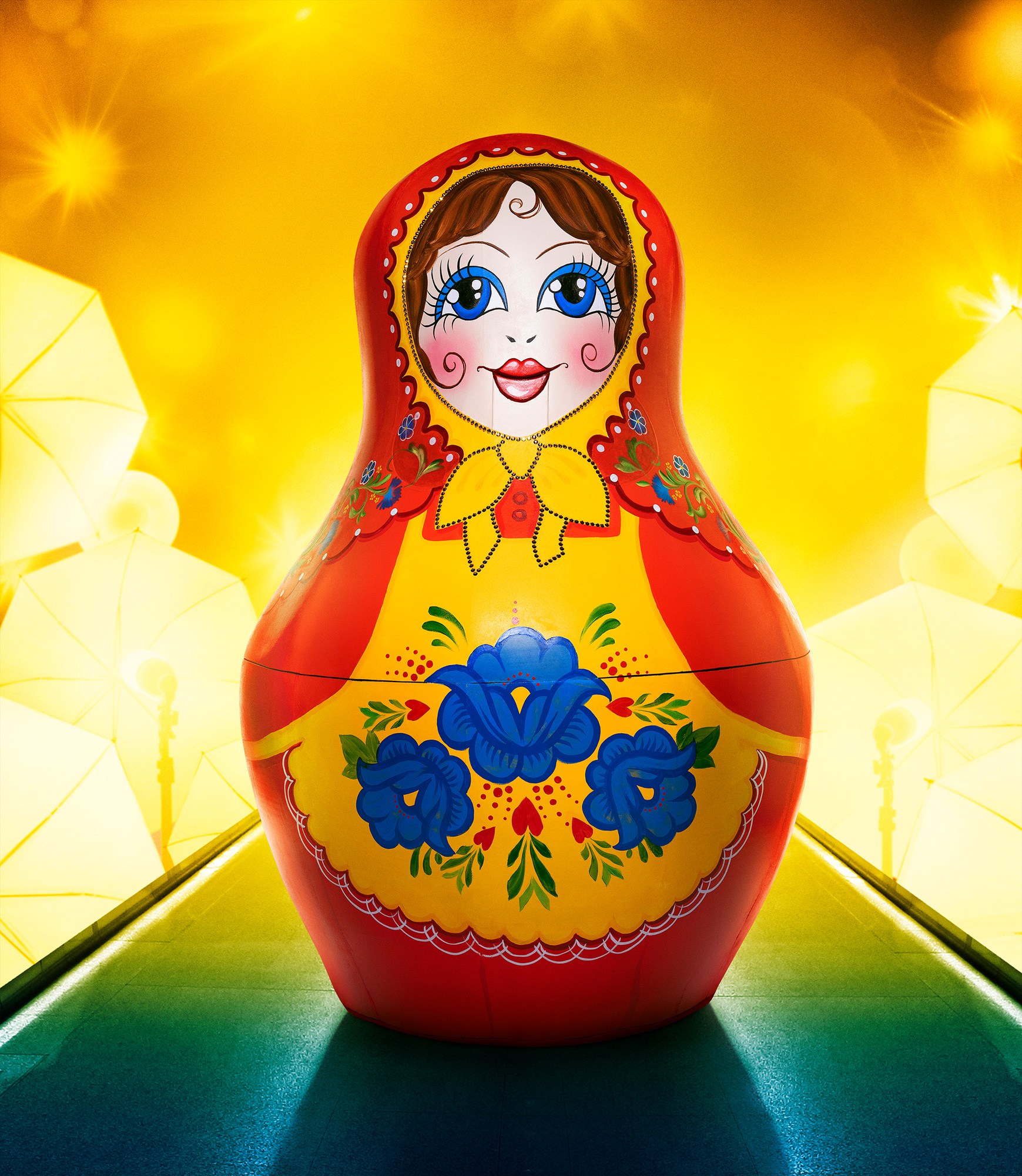 russian doll, masked singer