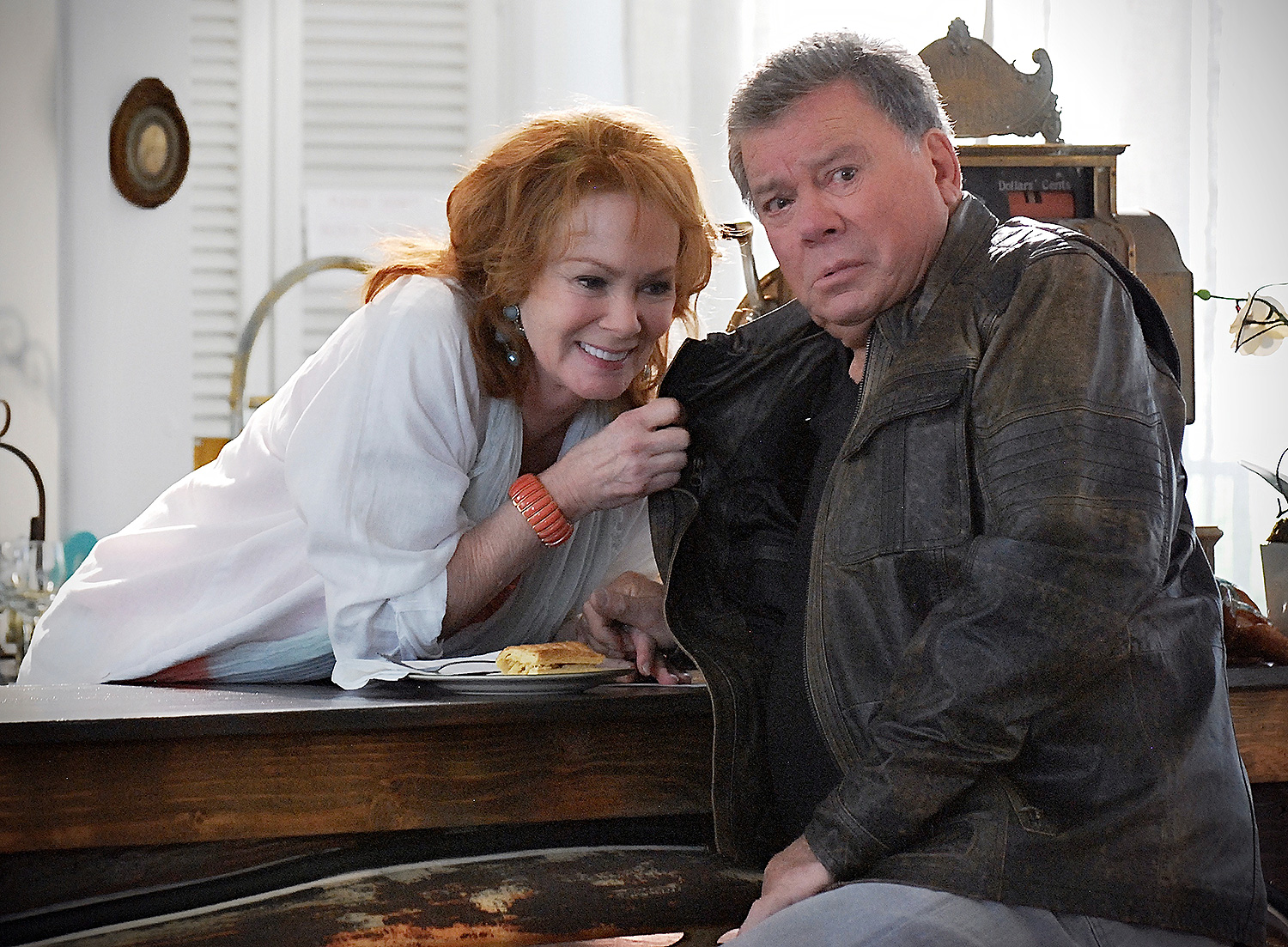Jean Smart and William Shatner