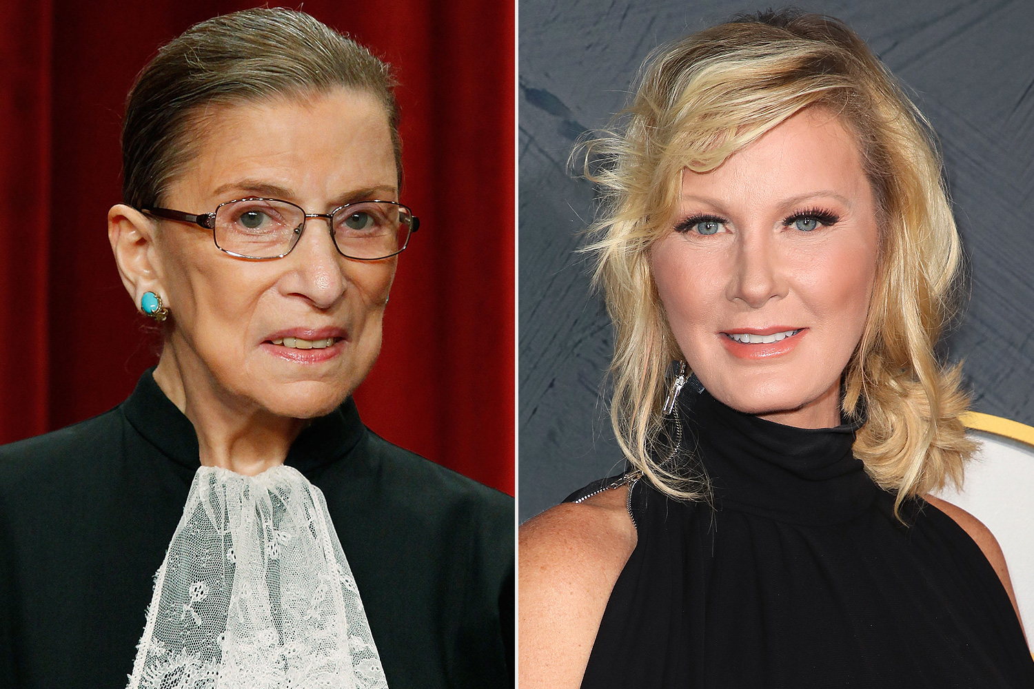 Ruth Bader Ginsburg (left) and Sandra Lee