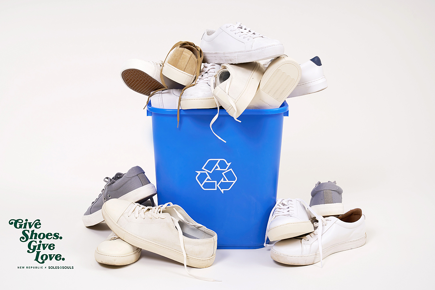 New Republic Is Recycling and Donating Shoes to People in Need