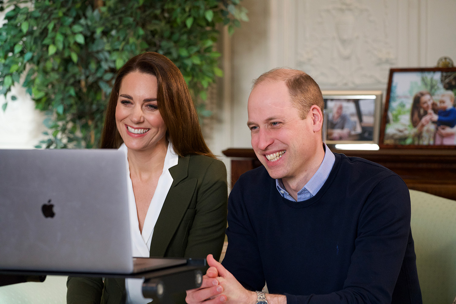 Kate and Prince William Talk with High Risk Patients About COVID Vaccine
