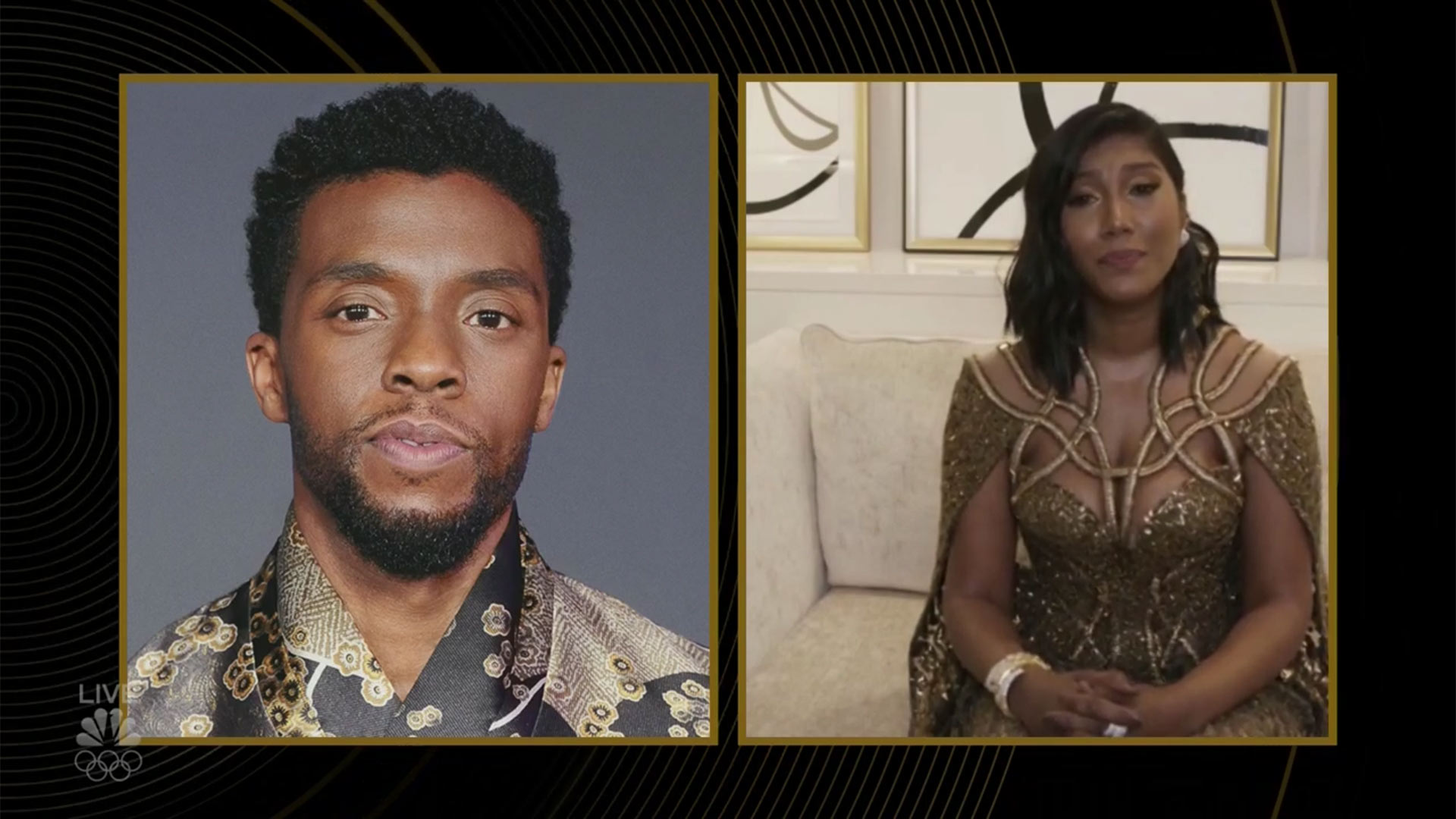 Chadwick boseman and wife