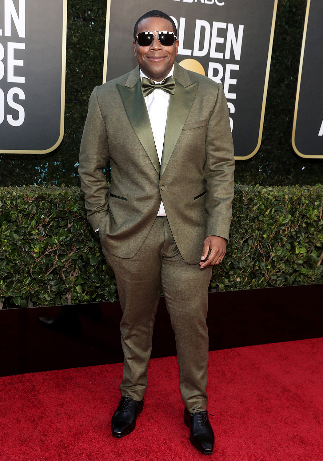Pictured: Kenan Thompson attends the 78th Annual Golden Globe Awards held at The Beverly Hilton and broadcast on February 28, 2021