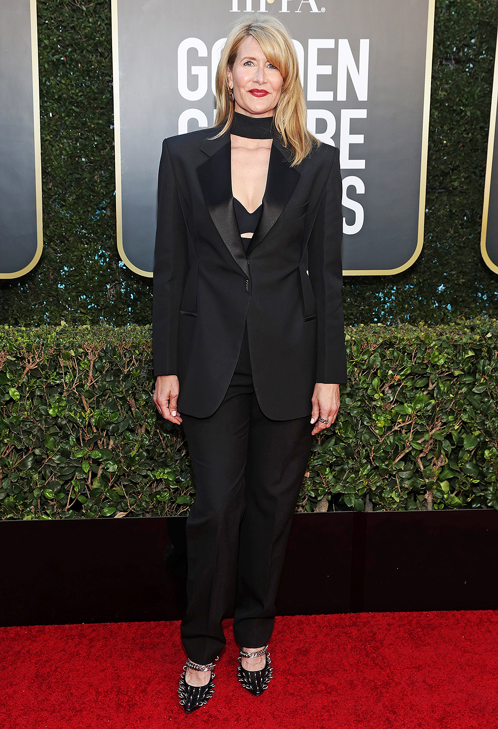 Laura Dern attends the 78th Annual Golden Globe Awards held at The Beverly Hilton and broadcast on February 28, 2021 in Beverly Hills, California.