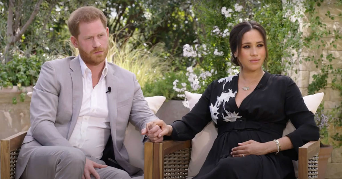 "Oprah With Meghan And Harry First Look | ""Almost Unsurvivable"""