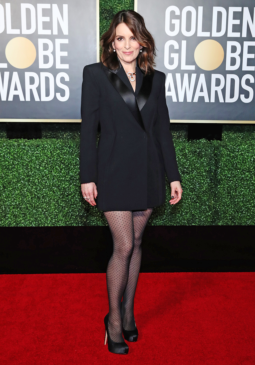 Co-host Tina Fey attends the 78th Annual Golden Globe Awards held at The Rainbow Room and broadcast on February 28, 2021