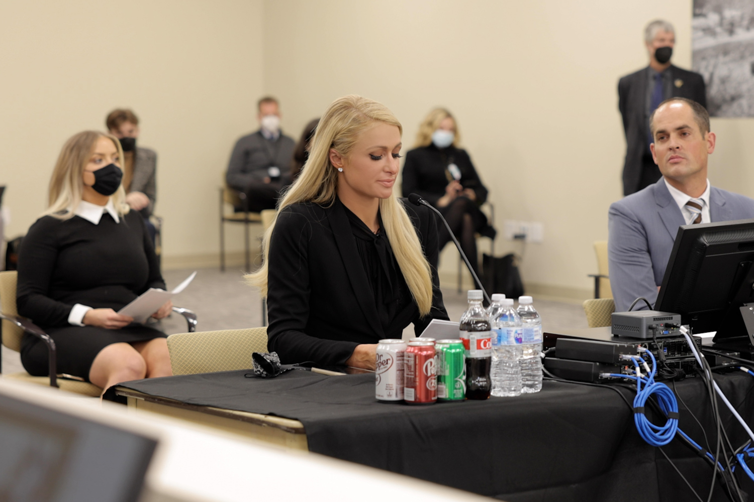 Paris Hilton testifying in Utah court last month