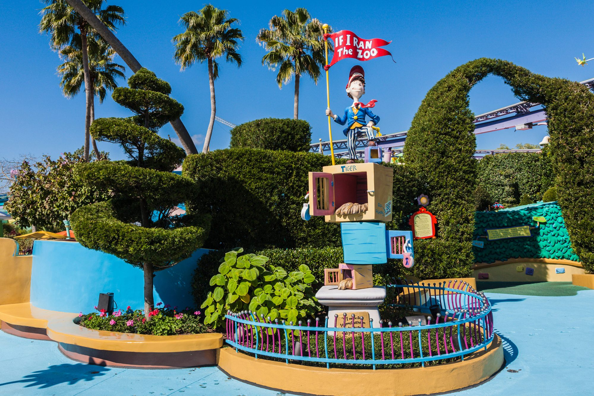 If I Ran The Zoo attraction in Seuss Landing in Islands of Adventure at Universal Studios, Orlando
