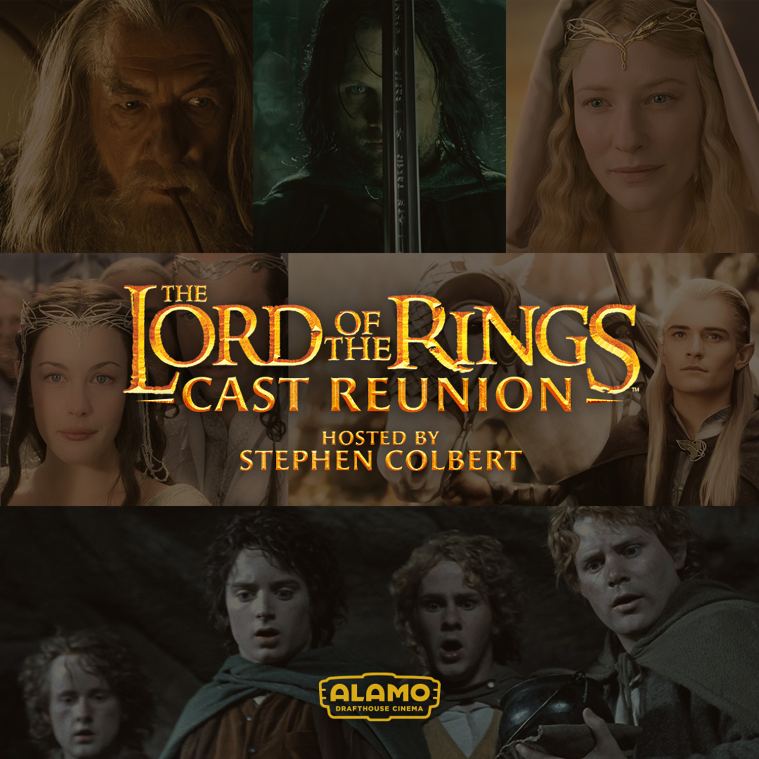 Lord of the Rings Cast reunion