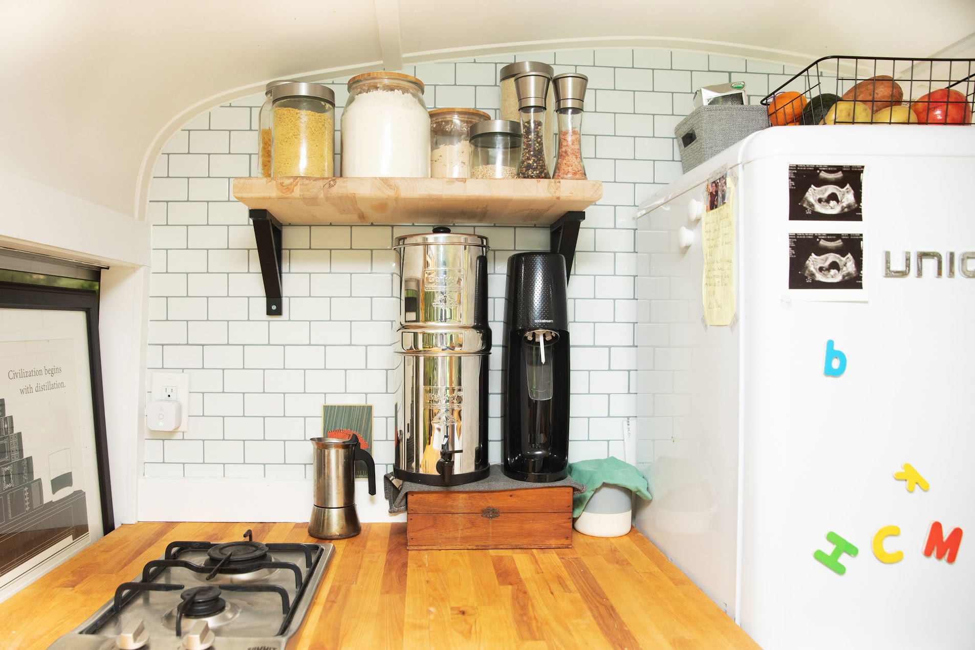 These Moms Transformed an Old Bus Into Their Dream Home for Their Family of Four — See Inside!