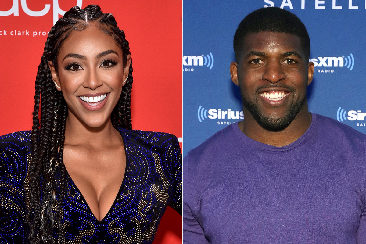 Tayshia Adams and Emmanuel Acho