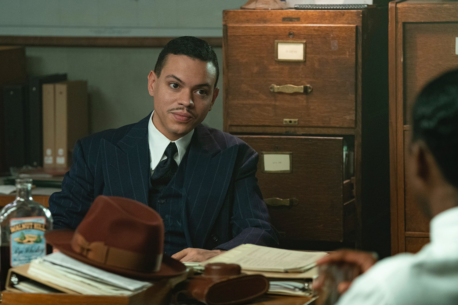 Evan Ross in The United States vs. Billie Holiday