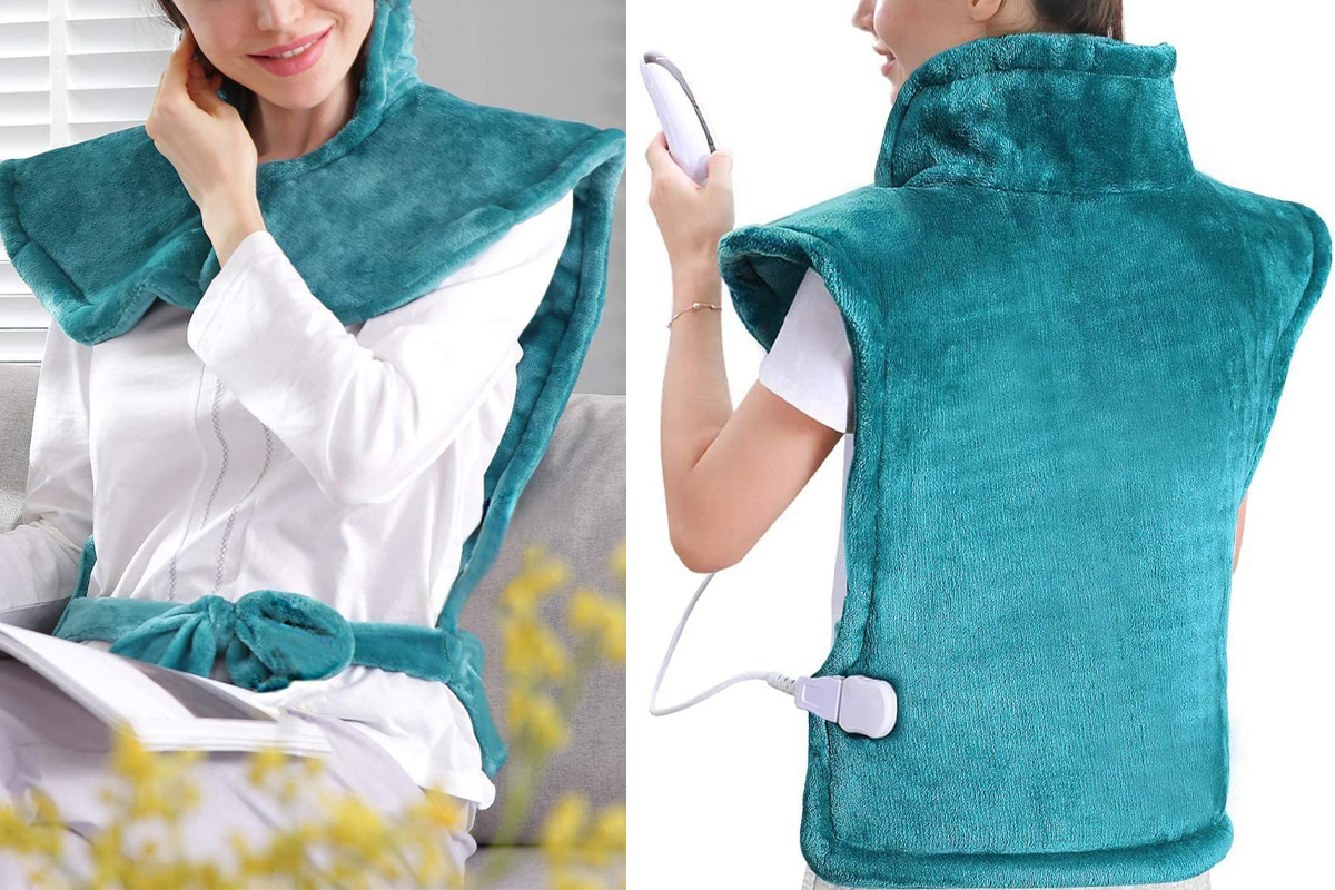 Large Heating Pad for Back and Shoulder