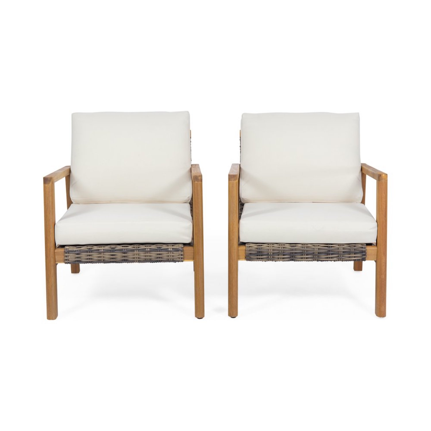 Outdoor Patio Wicker Accent Sets