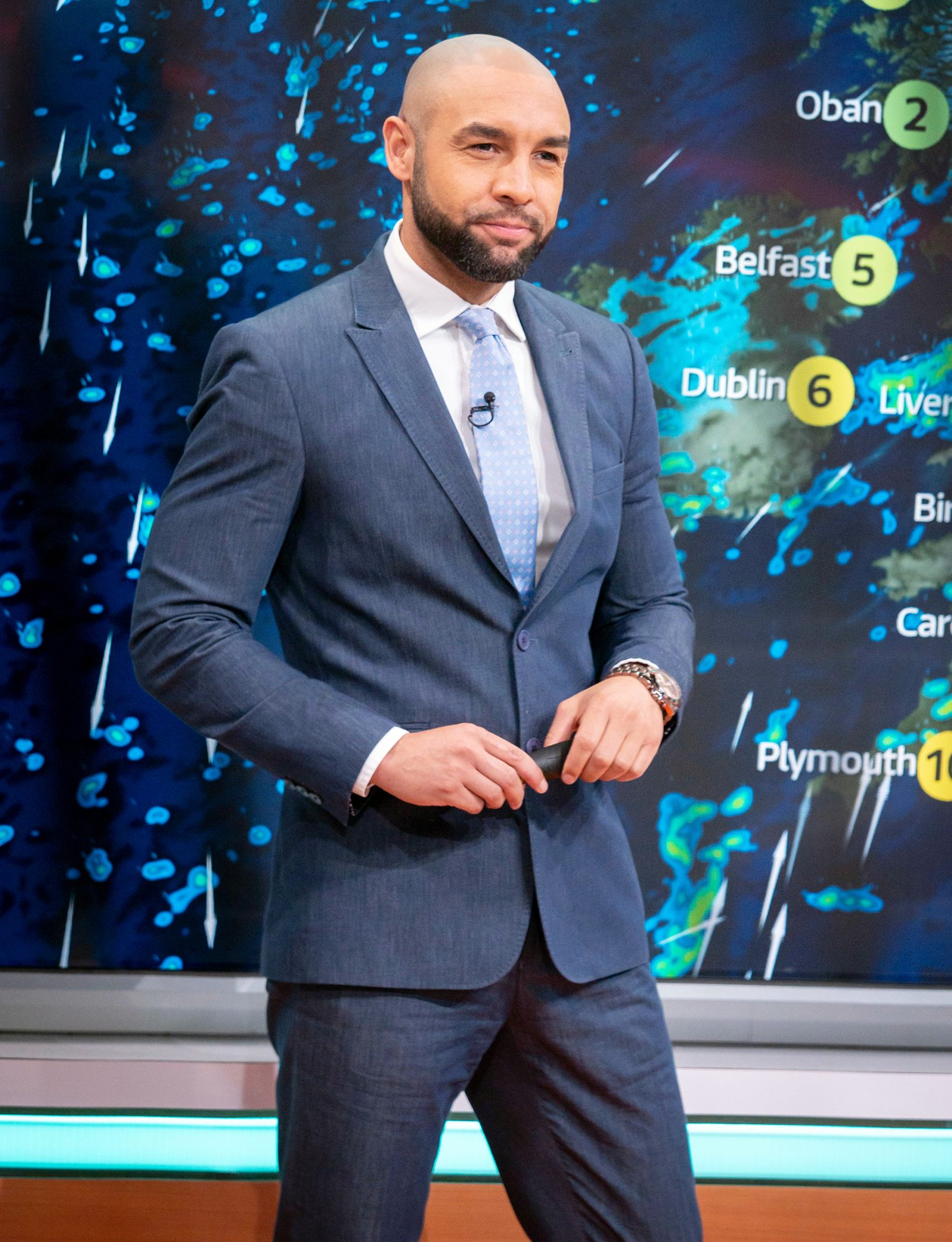 Alex Beresford 'Good Morning Britain'