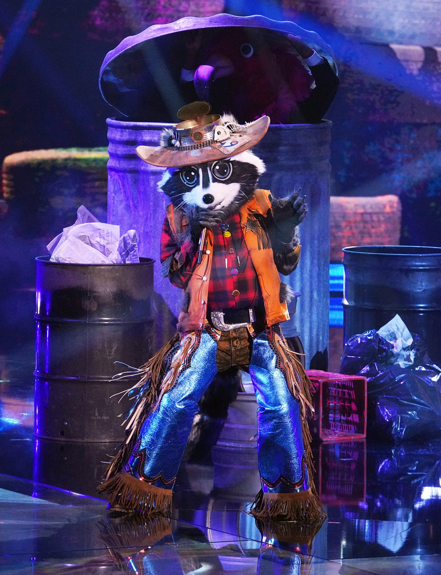 THE MASKED SINGER, Racoon