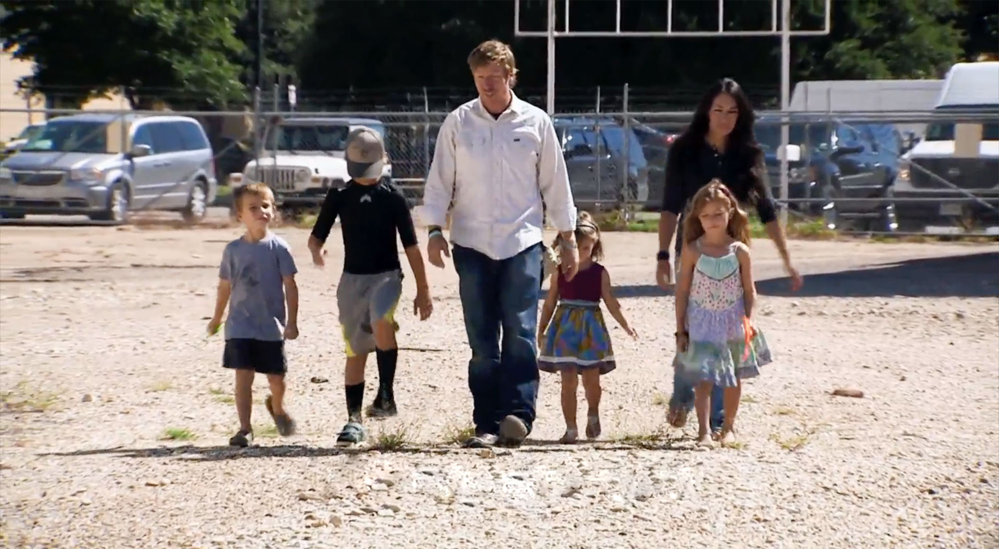 The Gaines family in 2014, as seen in Breaking New Ground on Discovery+