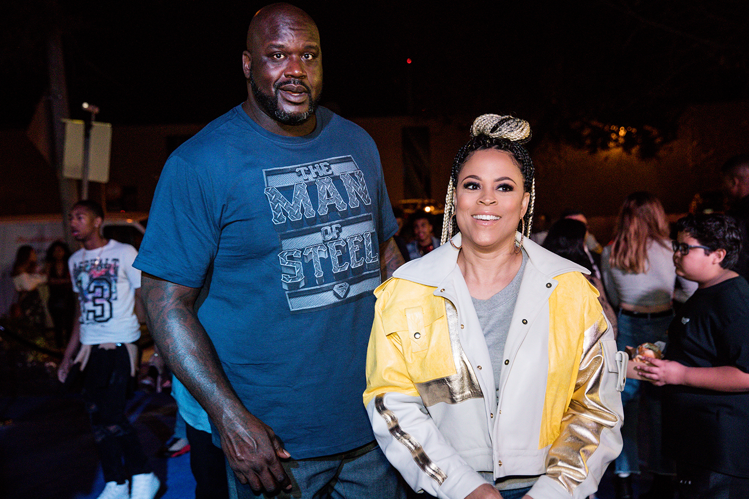 Shaunie O'Neal and Shaquille O'Neal