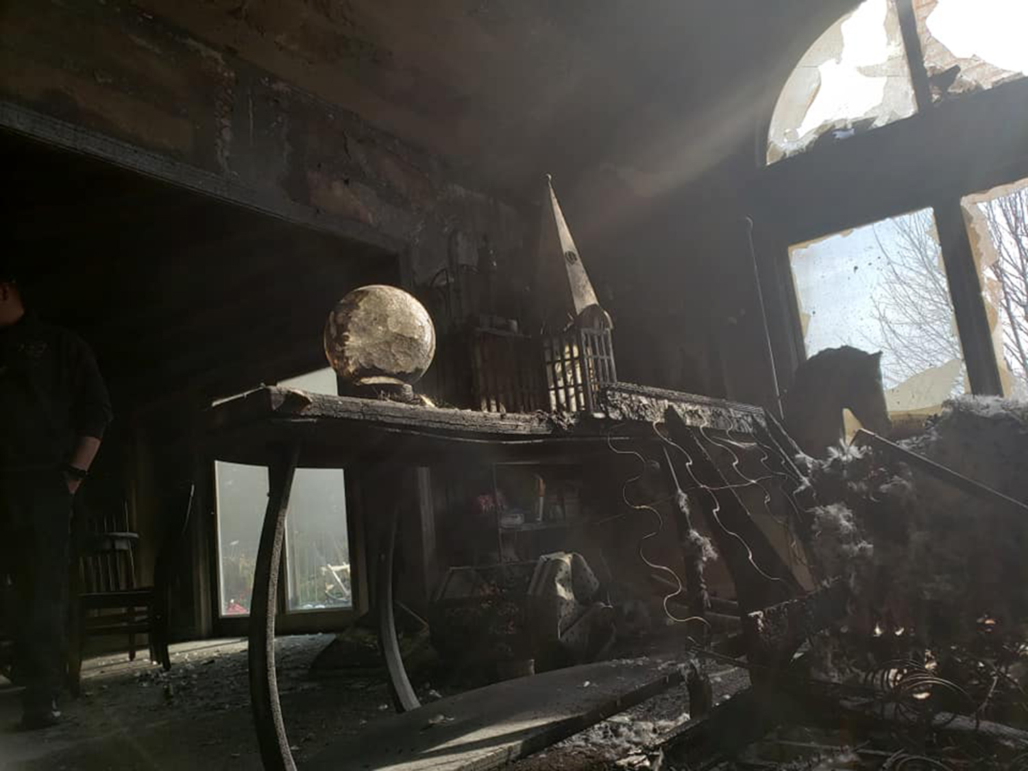 crystal ball house fire