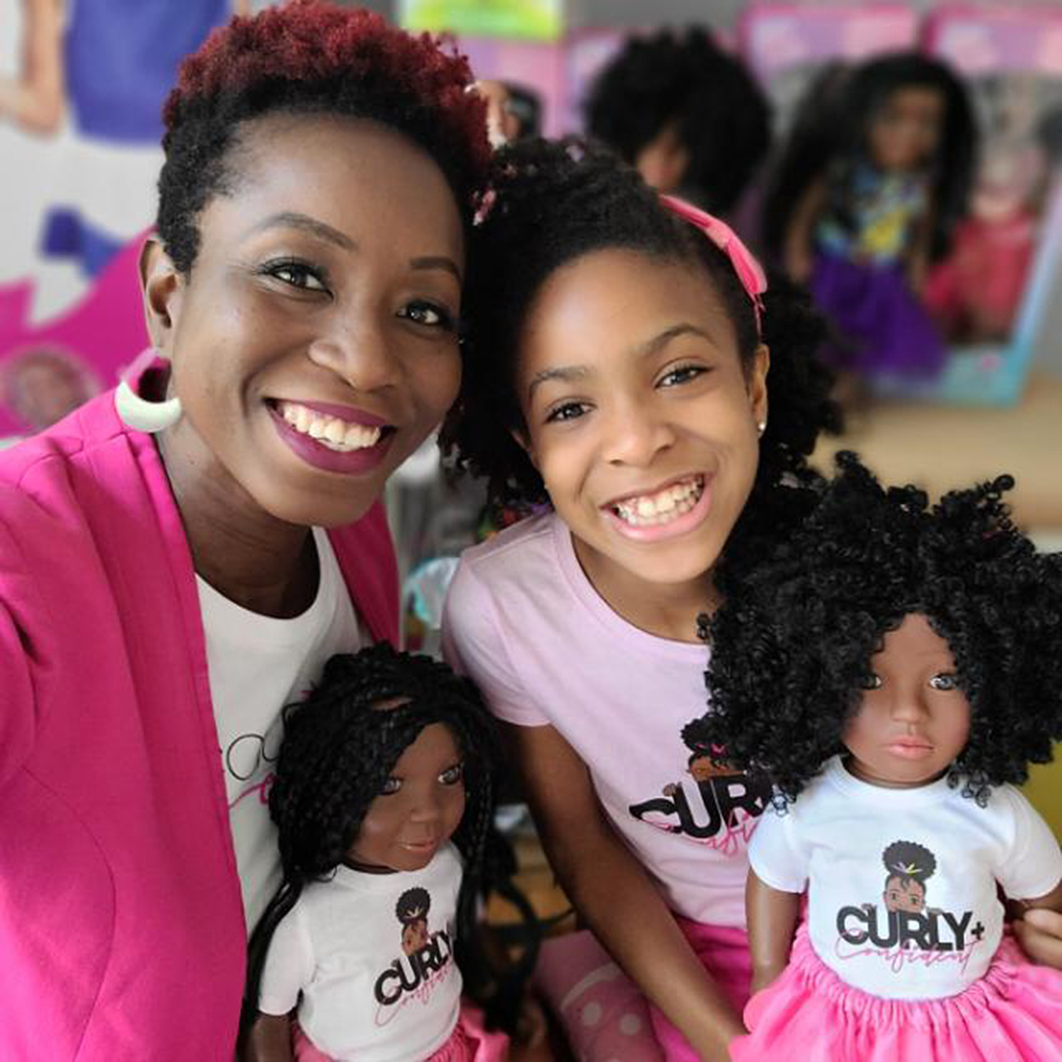 9-Year-Old CEO Empowering Black Girls to Embrace Their Hair Through Line of Dolls With Curls
