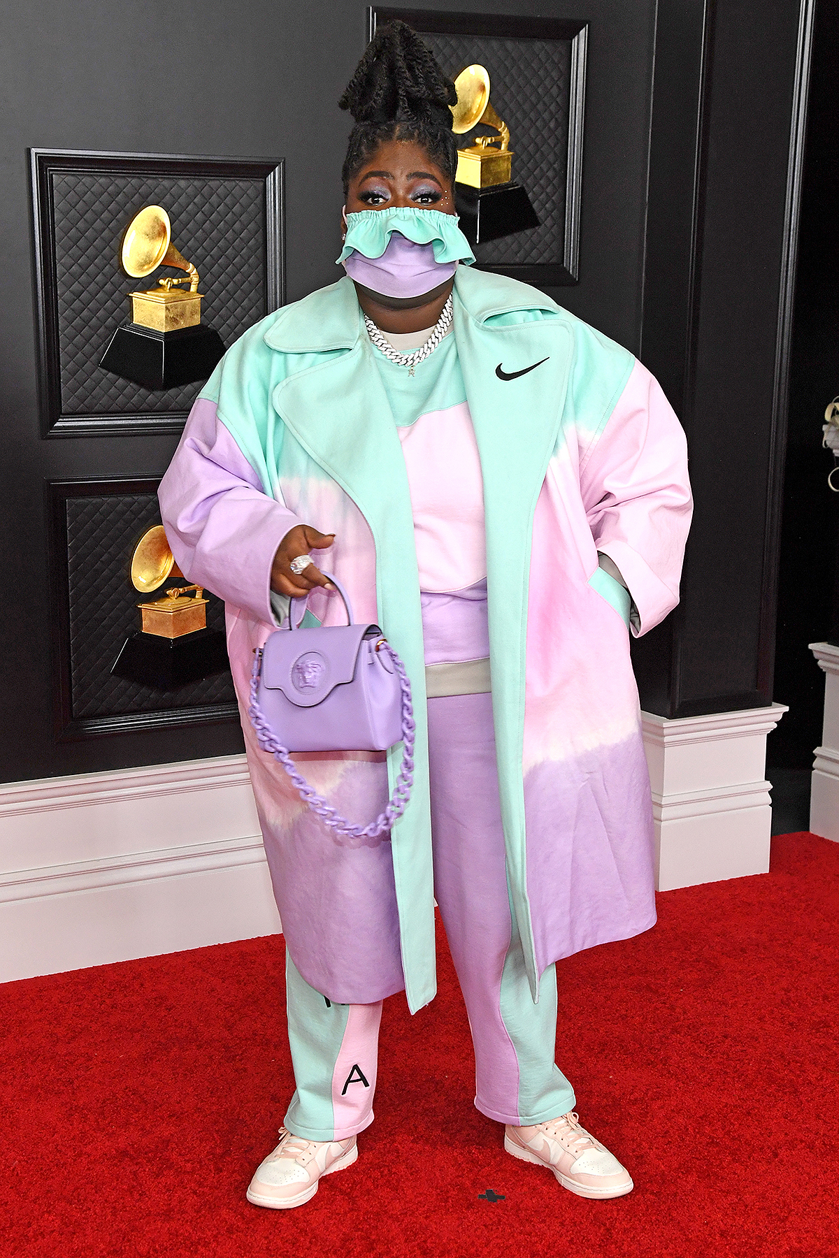 Chika attends the 63rd Annual GRAMMY Awards
