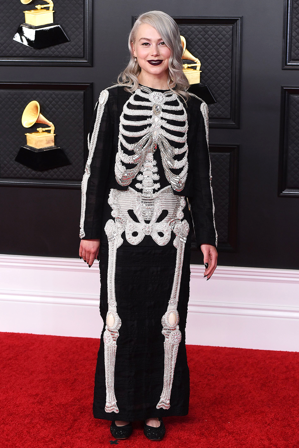 Phoebe Bridgers arrives at the 63rd annual Grammys