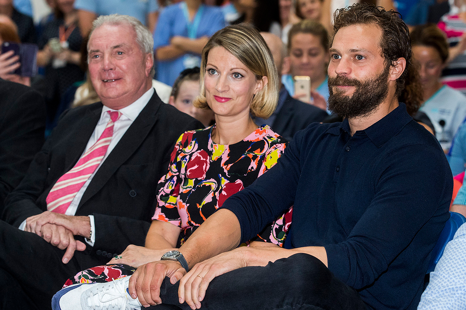 Jamie Dornan father and sister