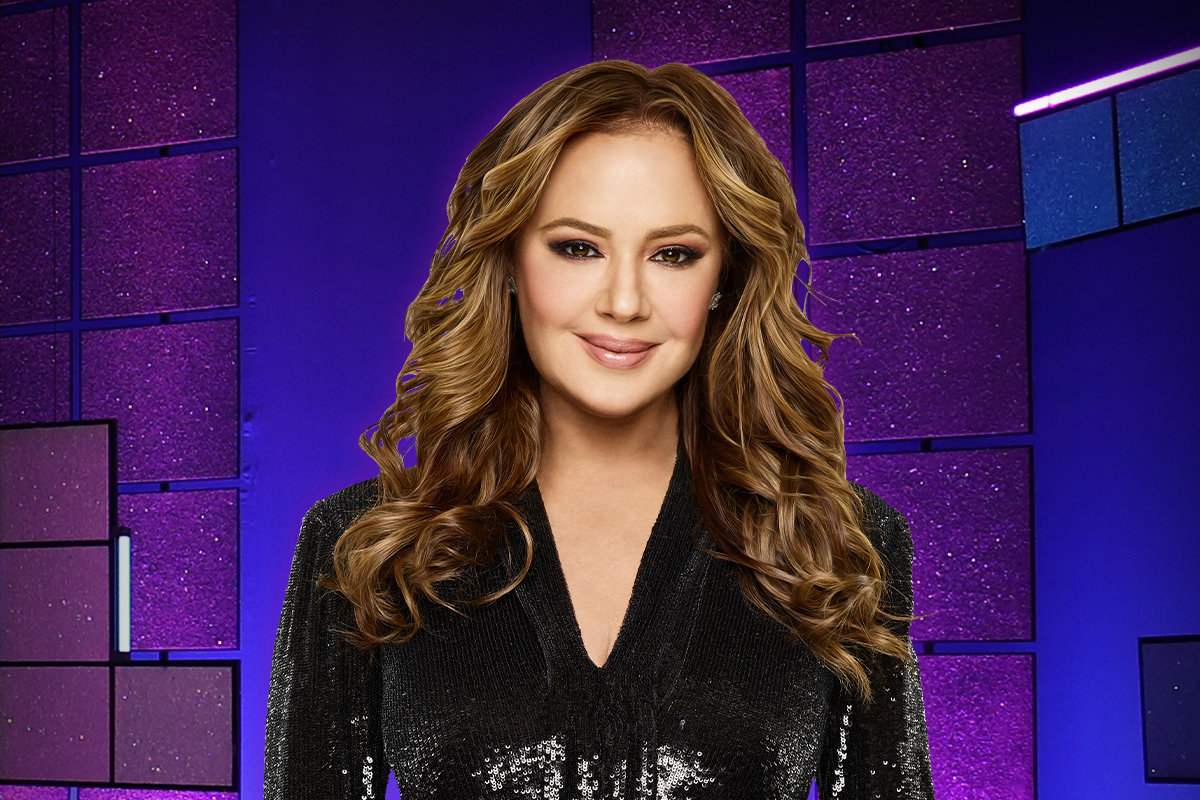 Leah Remini on People PUZZLER