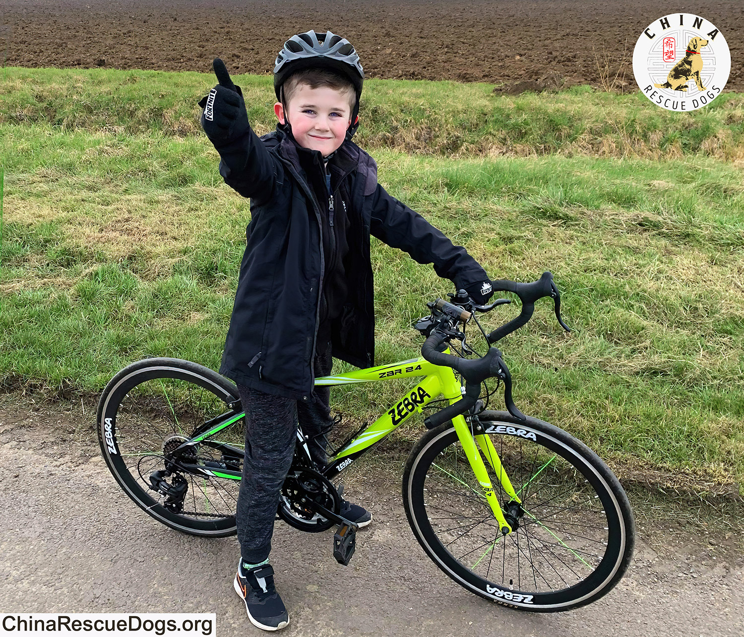 Rhys Ride For China Rescue Dogs