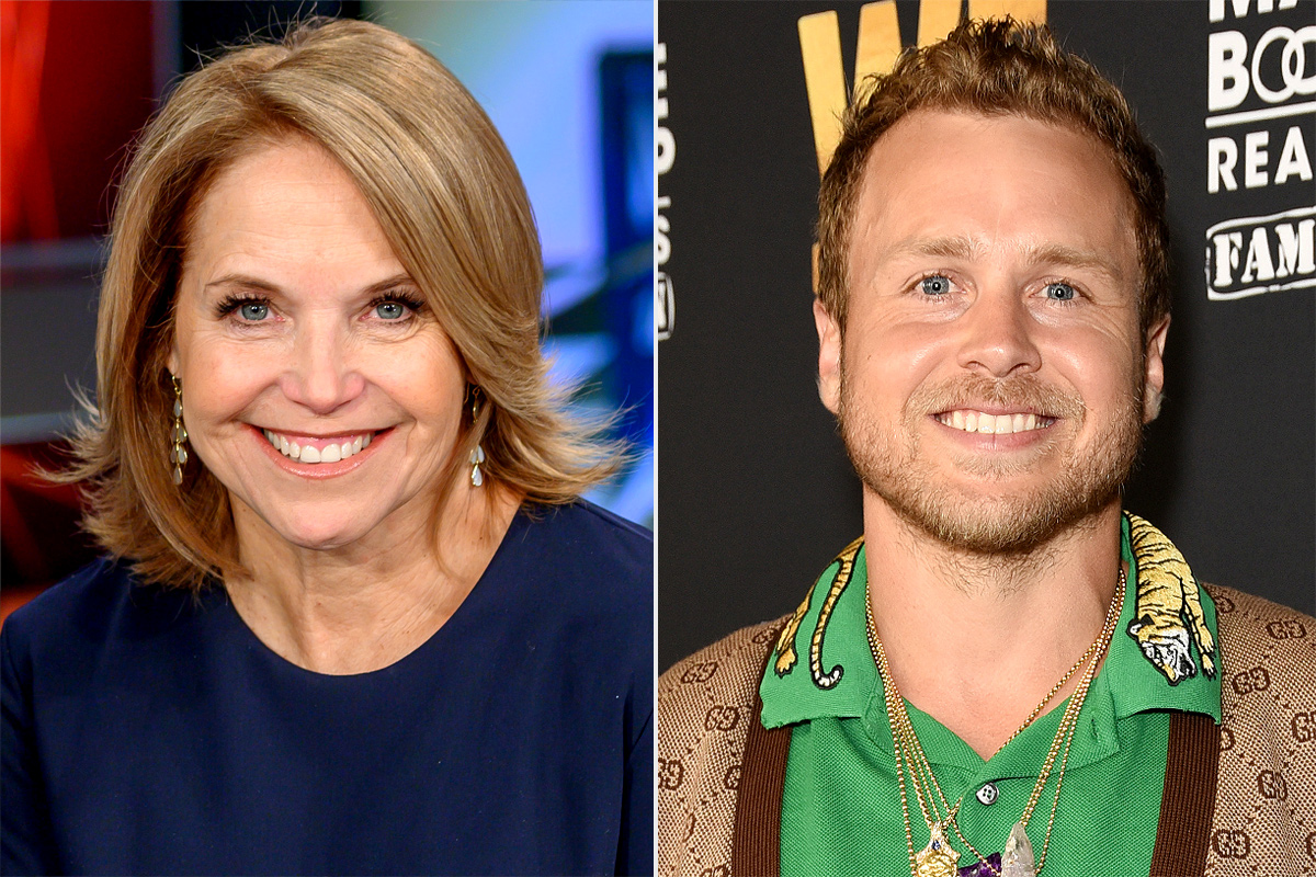 katie couric, Spencer pratt