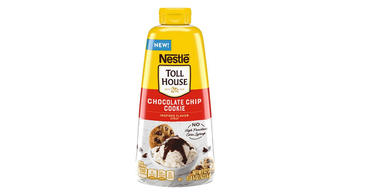 nestle tollhouse new cookie syrup
