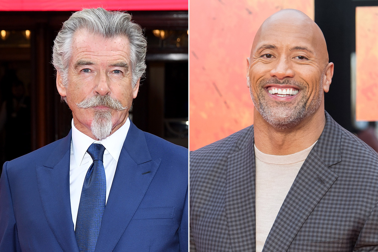 Pierce Brosnan as Dr. Fate Opposite Dwayne Johnson as Black Adam